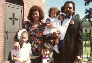 Second marriage, Wilbert & Lisa Richard , Kara, Kyle, Kelli