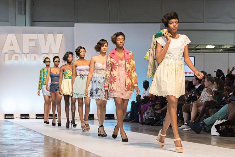 runway show of AIMEEKU SS16 collection at Africa Fashion Week London (10)