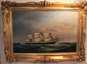 Hotelli Krepelin - Painting in the Maritime Museum