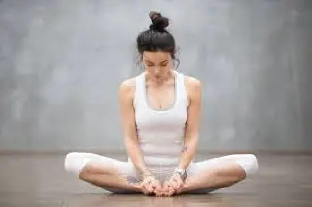 Yoga For Flat Foot - Baddha Konasana (Bound Angle Pose)