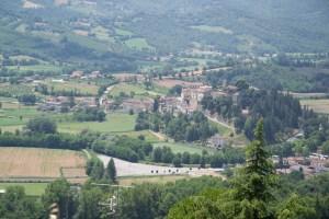 Blick von Citerna nach Monterchi