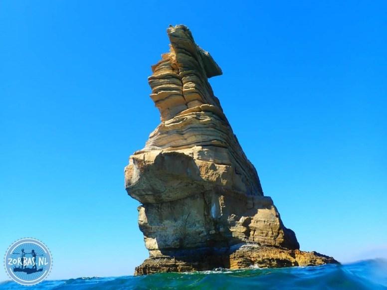 Agios Pavlos combinatie snorkelen wandelen geologie