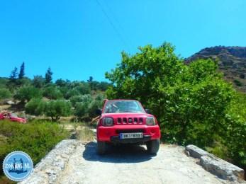 Kreta zien vanuit de jeep