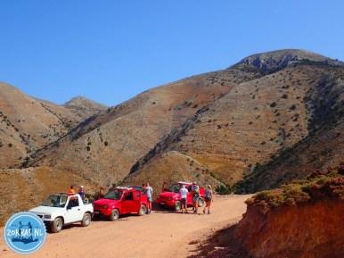 Hoogtepunt Kreta jeeptour zelf rijden