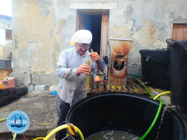 wijn maken op kreta 2020