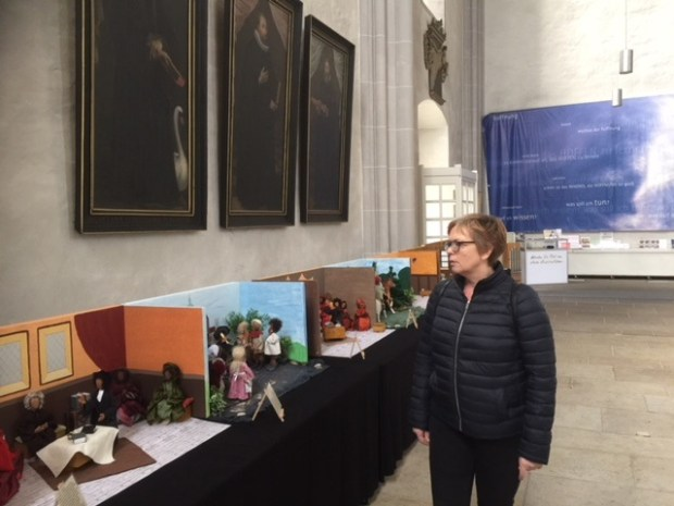 kerk tentoonstelling