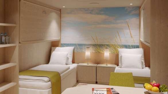 AIDAmira erhält Welcome Cruise