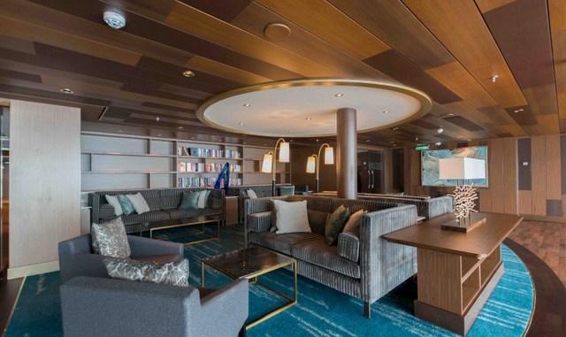Fast wie im Wohnzimmer: die Horizon Lounge