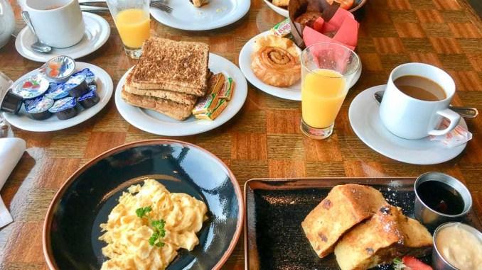 Reichhaltiges Frühstück im O'Sheehan's