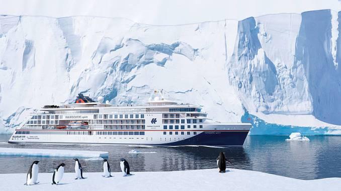 Der dritte Expeditionsneubau von Hapag-Lloyd Cruises heißt Hanseatic Spirit. Grafik: Hapag-Lloyd Cruises
