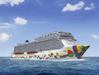 Die Norwegian Encore. Grafik: Norwegian Cruise Line