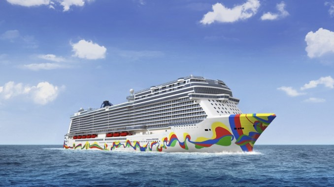 Die Norwegian Encore. Grafik: Norwegian Cruise Line