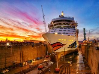 AIDAsol ist in Marseille modernisiert worden. Foto: AIDA Cruises
