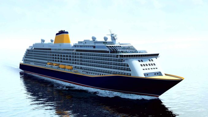 Die Spirit of Discovery. Grafik: Saga Cruises