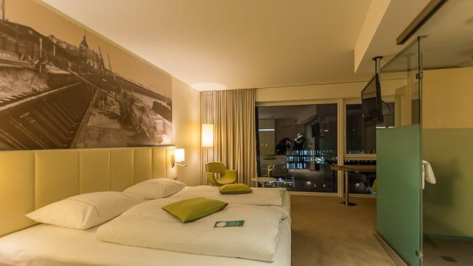 Unser Hotelzimmer im Best Western Plus Hotel Bremerhaven