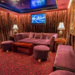 Sitzecke in der Bliss Ultra Lounge