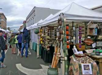 Markttag in Astoria