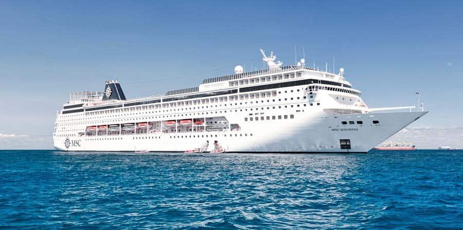 MSC Sinfonia Kreuzfahrtschiff