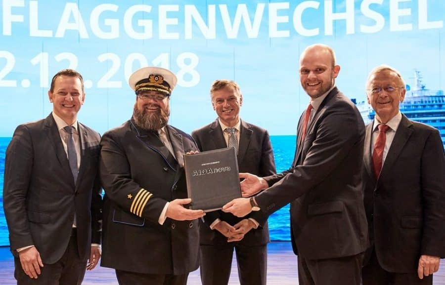 AIDA Cruises übernimmt AIDAnova von Meyer Werft Pappenburg