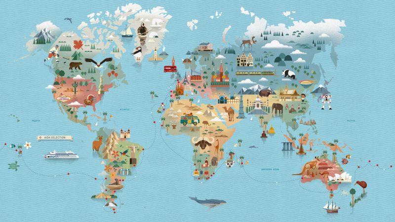 AIDA Weltreise mit AIDAaura - 2020-2021 - Weltreise 4