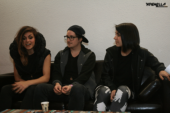 Krewella en interview !