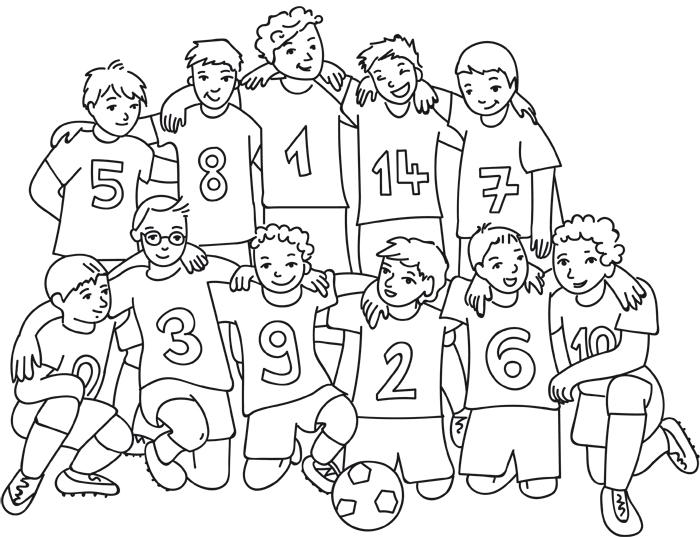 Fussball Bilder Zum Ausmalen Und Ausdrucken - Malvorlagen