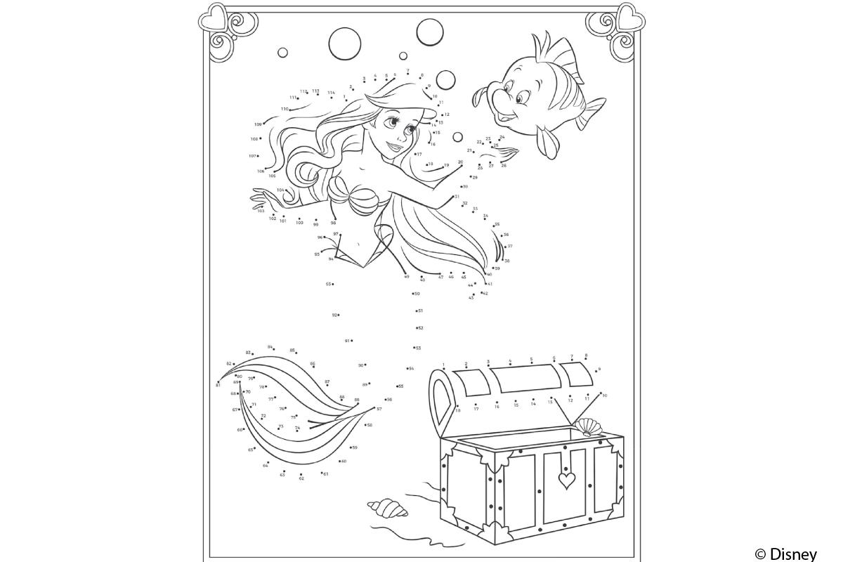 Arielle Ausmalbild Kribbelbunt