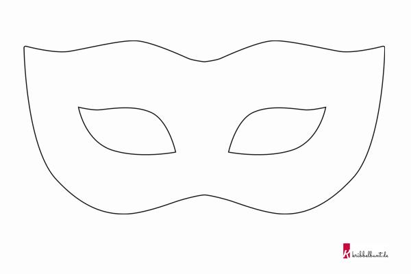 Venezianische Masken Malvorlagen Kostenlos Coloring and