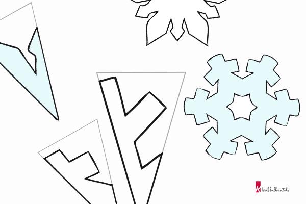 Schneeflocken Basteln Vorlagen Zum Ausdrucken
