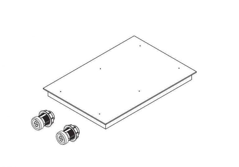 PKFI11 BORA Pro surface induction glass-ceramic-cooktop