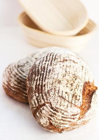 Skållade rågbröd