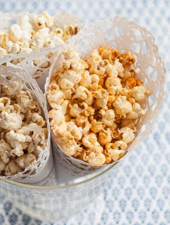 BBQ-popcorn