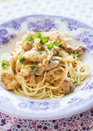 Chicken thai pasta