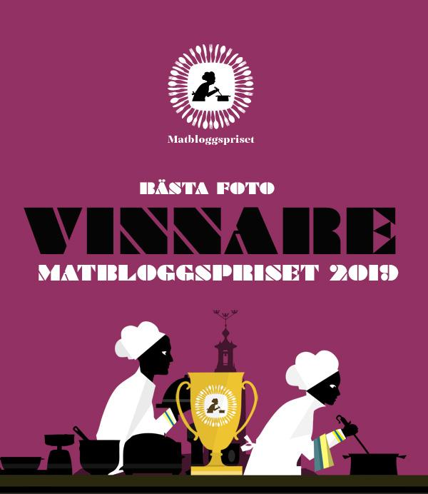 Matbloggspriset vinnare Bästa foto 2019