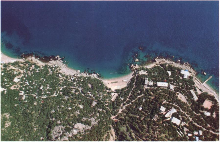 Батилиман. Вид с высоты птичьего полета. Фото Капитана Воронина