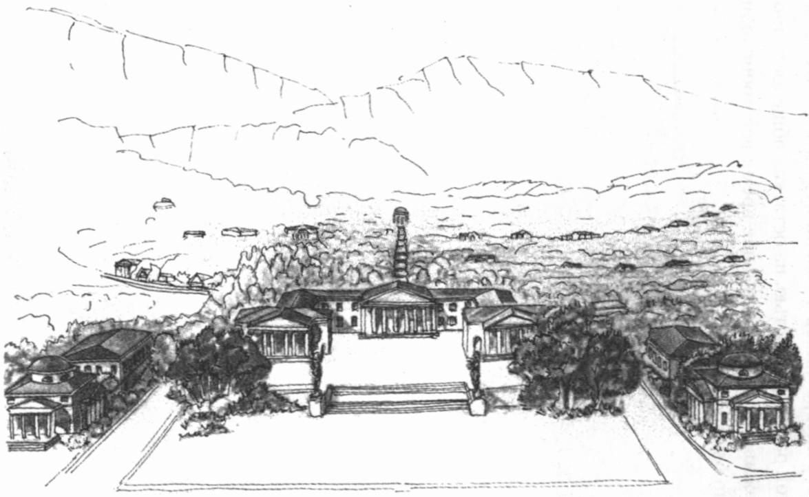 Н. Фомин. Проект курорта «Ласпи». 1916 г