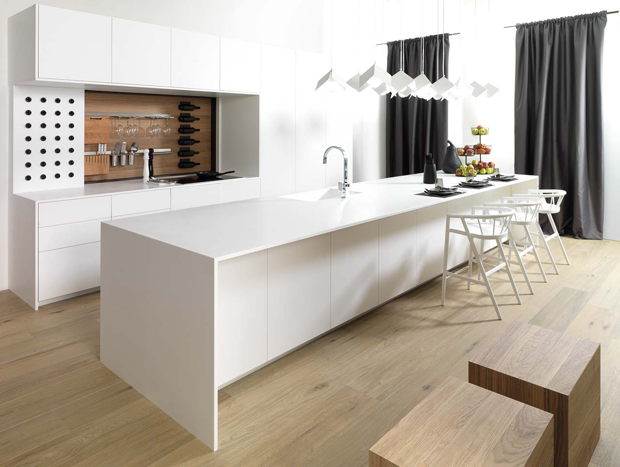 KRION Solid Surface in Emotions E400 Gamadecor