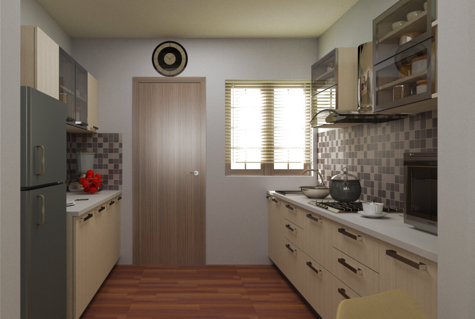 Parallel Modular Kitchens