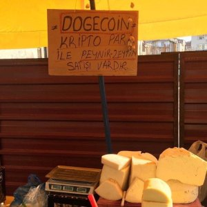Dogecoin begins to be accepted and is having its awareness increasing in Turkish local markets day by day along with other major cryptos like Bitcoin.