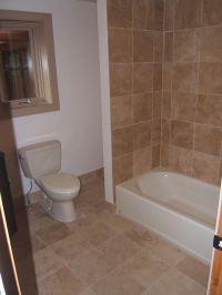 Bathroom tile flooring | Kris Allen Daily