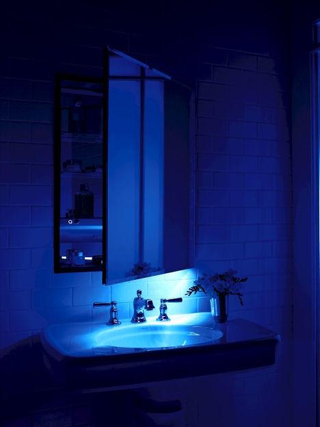Bathroom night lights  Kris Allen Daily