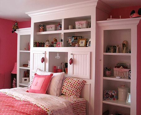 Bedroom shelving units  Kris Allen Daily