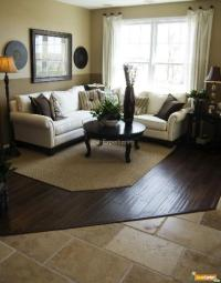 Flooring ideas for living room