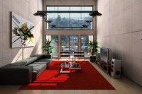 Rugs for living room: Square area rug