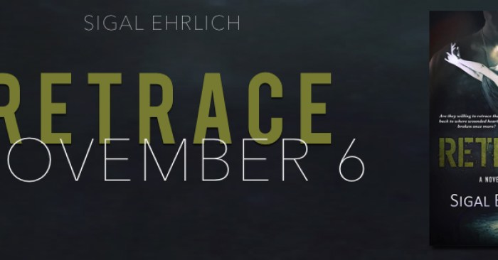 RELEASE BLITZ & GIVEAWAY: RETRACE by Sigal Ehrlich