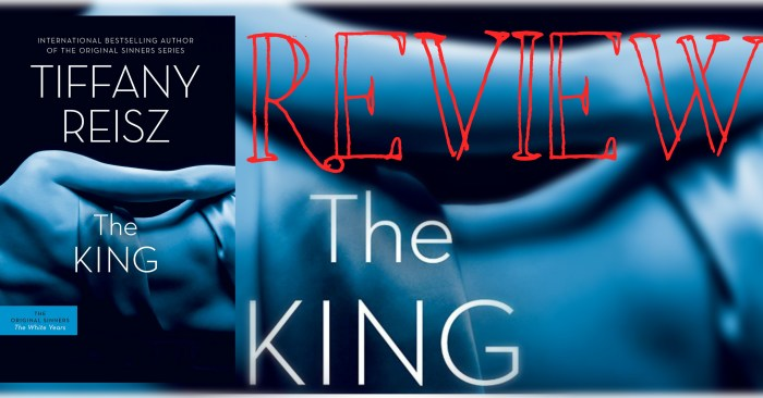 REVIEW & Q&A: THE KING by Tiffany Reisz