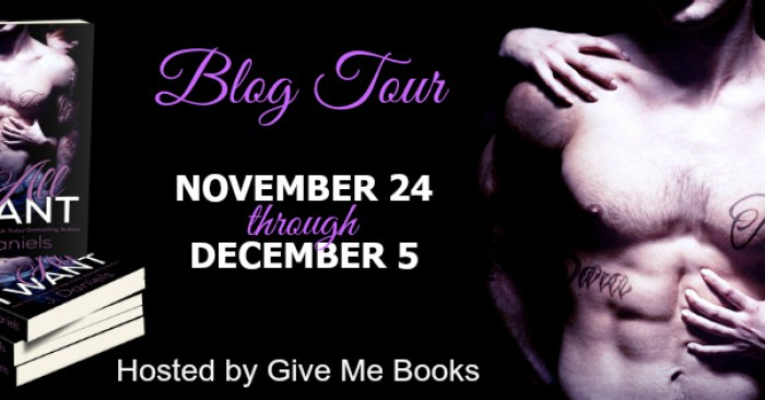 REVIEW & GIVEAWAY: ALL I WANT by J. Daniels