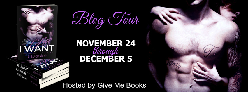 ALL I WANT Blog Tour Banner