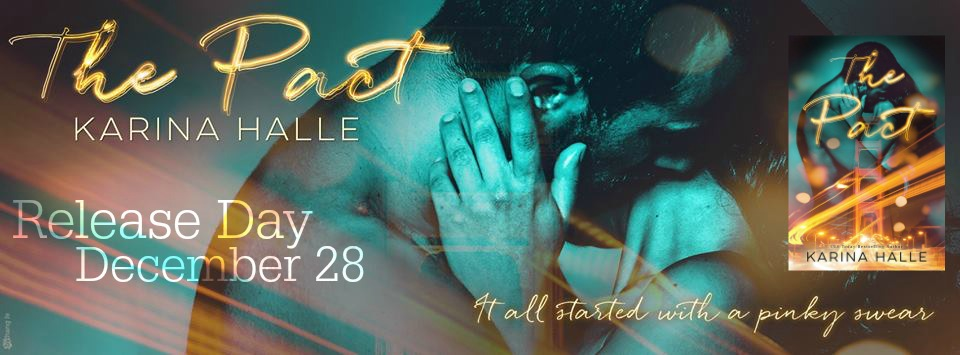 RELEASE BLITZ & ebook GIVEAWAY: THE PACT by Karina Halle