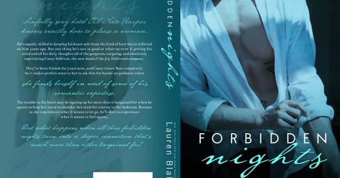 COVER REVEAL: FORBIDDEN NIGHTS by Lauren Blakely
